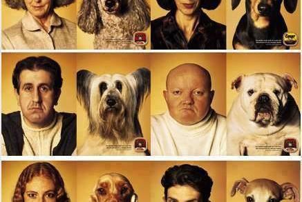 Кучетата приличат на стопаните си!
