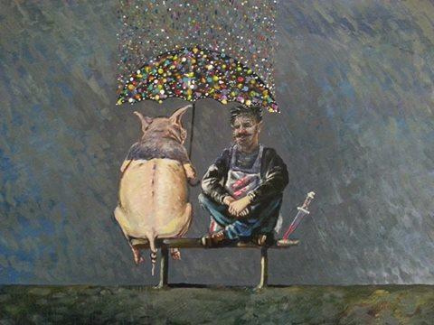 """""""Докато вали,а после да си дойдем на думата!"""" - худ.Асен Милчев"""