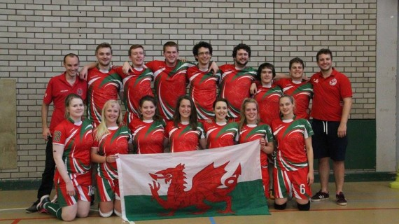What a weekend for Wales Dragons – International Dodgeball Team!
