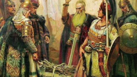 Всички знаем за хан Кубрат и неговия сноп пръчки….