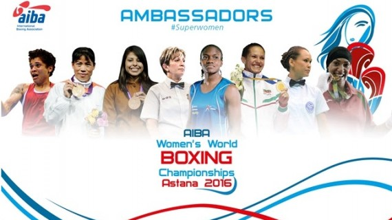 АИБА с гордост обявява своите посланички сред боксьорките…