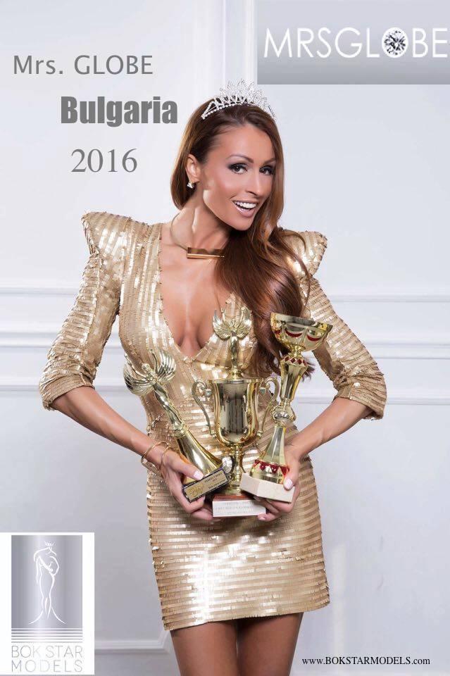 Новата Мисис Глоуб България 2016 е Цветелина Разложка!