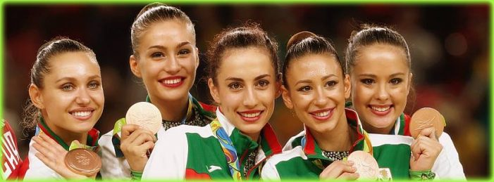 Бронзов олимпийски медал за ансамбъла ни по художествена гимнастика в Рио