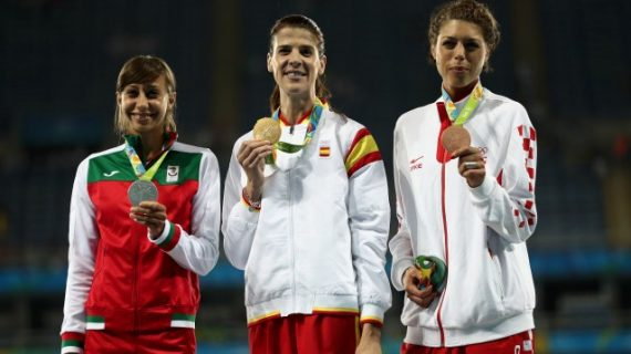 Олимпийско сребро за България от Мирела Демирева