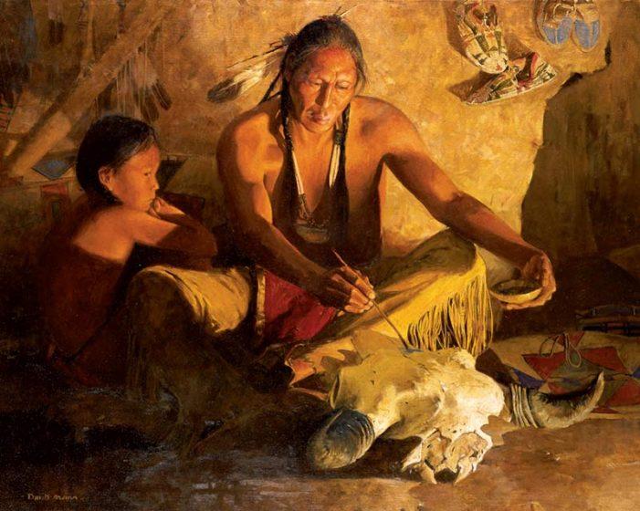 Индианска притча за вечната любов
