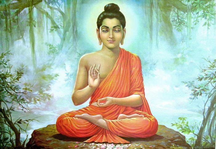 Невъзмутимият Буда