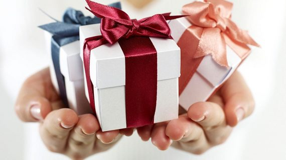История на подаръка