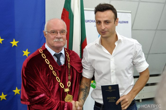 Бербатов пожела успех на кандидатстудентската кампания на НСА