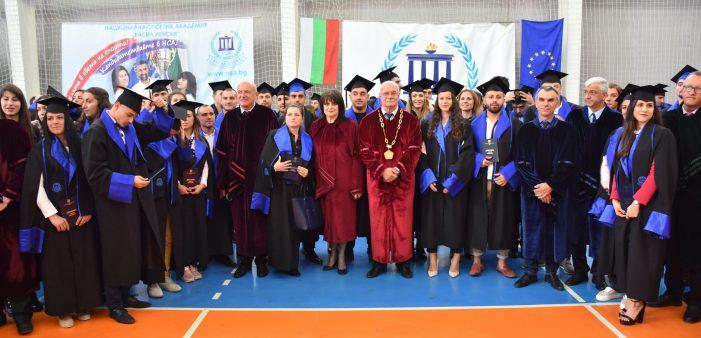 Кубрат Пулев получи дипломата си заедно с други бакалаври и магистри на абсолвентска церемония в НСА